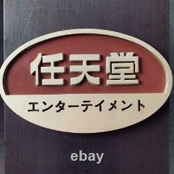 Nintendo Official Sign Board Store Display Vintage From Japan DHL
