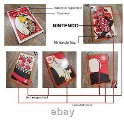 Nintendo Sign Original 1889+ Store Display Historic Japan Antique Ad Museum NES