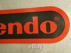 Nintendo Sign Store Display Advertisment