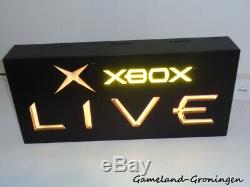 Official Xbox Live Lightbox Sign Light-Up Store Display 60 x 29 cm