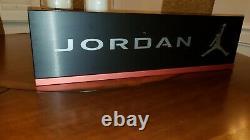 Original Nike Air Jordan Store Display Sign 36 x 10 Metal