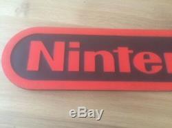 Original Retro Games Store Display Advertising Sign Nintendo NES Super Rare