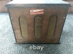 Original Winchester Store Table Top Radio Speaker Very Rare Advertising Display