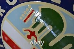 PLAQUE EMAILLEE ALFA ROMEO 50 cm enamel sign emailschild