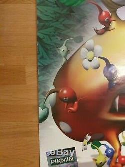 Pikmin Gamecube Nintendo Poster Sign Store Display Advertisement