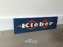 Plaque Emaillee Ancienne Kléber Enamel Sign Emailschild