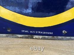Plaque emaillee citroen Emailschild Enamel Sign Insegna Peugeot Renault
