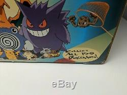Pokemon Red Blue Nintendo Gameboy Store Display Sign Promo Promotional VTG