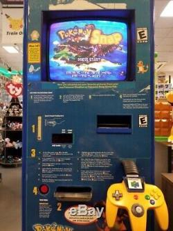Pokémon Snap Station Nintendo Blockbuster Sign Display Statue Store 100% Workin