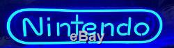 RARE AUTHENTIC Lighted Nintendo Sign Video Game Store Display NES SNES N64 Wii