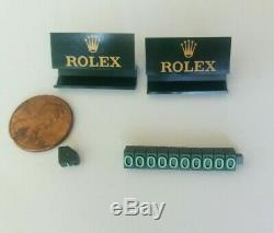 ROLEX Dealer Stand Display Sign Store Pricing Set in the Box RMA881