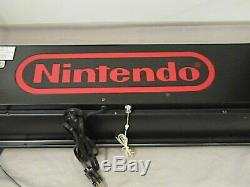 Rare Authentic & Geninue Lighted Nintendo Sign Store Display
