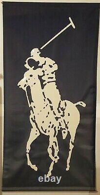 Rare! Polo Ralph Lauren Classic Pony Large Store Vinyl Display Banner