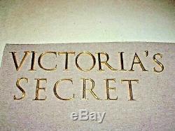 Rare! Victorias Secret Store Front Sign! Solid Brass Letters! Authentic