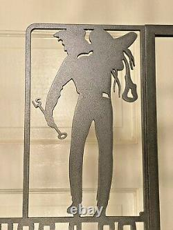 Rare Vintage Levi's LEVI STRAUSS & CO Store Display Steel Wall Mounted Sign