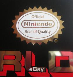 Rare Vintage NOS WORLD OF NINTENDO Store Display Sign