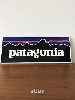 Retail Patagonia Metal Tin Store Display Sign 15.5 X 6 1/4