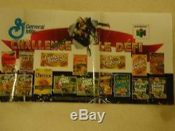 Star Fox 64 Nintendo 64 N64 General Mills Canada Store Display Promo Sign Banner
