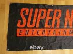 Super Nintendo SNES Banner Store Display Sign NES Super Mario promo