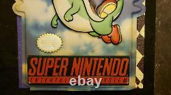 Super Nintendo Super Mario World SNES Store Sign display
