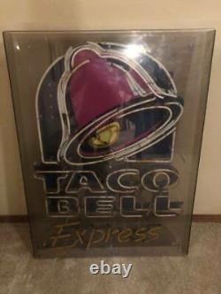 Taco Bell Express Advertising Neon Sign Retail Store Display Only