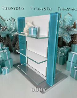 Tiffany&Co Lucite Store Display Sign Eyeglass Glasses Fixture Collector 10.5x10