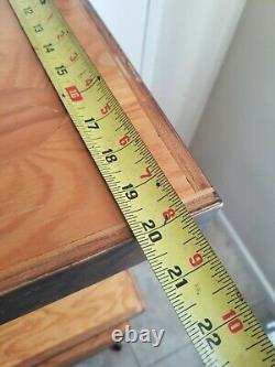 VANS Shoes Store Display Rack Off The Wall 4 Tier Wood & Metal Frame