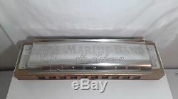 VINTAGE M. HOHNER HARMONICA MARINE BAND VERY RARE Store Display Advertising