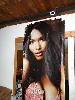 Victoria secret poster Model store display WINDOW HUGE CANVAS Lais Ribeiro large