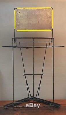 Vintage 1950's Daisy BB Gun Display Rack Sign POP Store Great Condition Rare