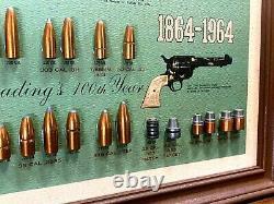Vintage 1964 SPEER BULLET STORE DISPLAY Antique Gun Ammunition Ammo Advertising