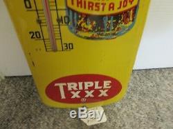 Vintage Advertising Triple XXX Soda Store Thermometer Display 963-q