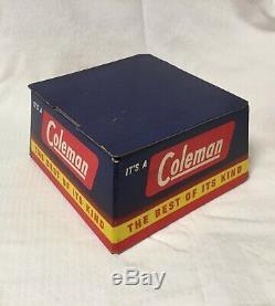 Vintage COLEMAN LANTERN Store Advertising Display Sign
