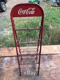 Vintage Coca Cola Display Rack Coke, Coca Cola Fresh from an old Country Store