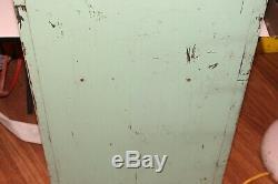Vintage Coleman Lantern Parts Cabinet Shelf Rack Store Counter Display Sign