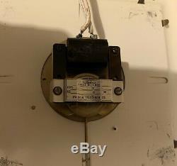 Vintage Door Bell Chime Telechron Clock Advertising Store Display Sign