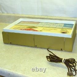 Vintage Grain Belt Beer Lighted Sign, Radio, Bar Counter Top Display, Team Score