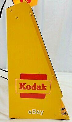 Vintage Kodak Film Dealer Display ED SULLIVAN with LIGHTED KODACOLOR 620 Light POS