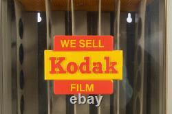 Vintage Kodak Film Store Counter Or Wall Advertising Display Dispenser E14