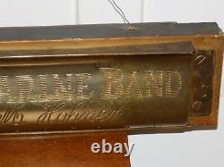 Vintage M Hohner Marine Band Harmonica Store Display