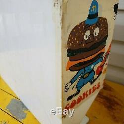 Vintage McDonald's McDonaldland Cookies Store Display Box Holder