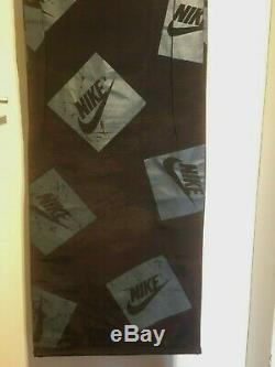 Vintage Nike Logo Sign Banner Display Store Swoosh Advertising Canvas Original