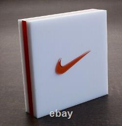 Vintage Nike Store Display Plaque Sign Air Jordan Swoosh