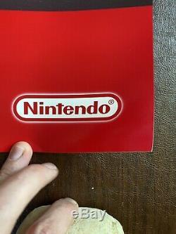 Vintage Nintendo N64 Zelda Majoras Mask Twin Towers 37x49 Store Display Sign