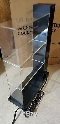 Vintage Sony UR 649 Betamax Beta Tape Store Counter Display Rare New As Is