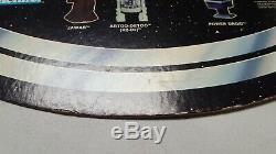 Vintage Star Wars Kenner COLLECT ALL 21 Bell Store Display sign cardboard 19x21
