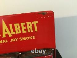 Vintage1950s Prince Albert advertising store display-tobacco-antique-sign-tins