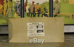 WINCHESTER Junior Rifle Corps Store Advertising 5-Panel Set Display Poster Ammo