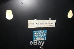 Walt Disney Black Diamond Store Display Electric Lamp Light Sign Rare Vtg Promo