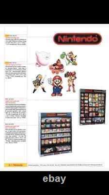 World of Nintendo SUPER METROID Sign SNES M35C Display Store Promo NES Authentic